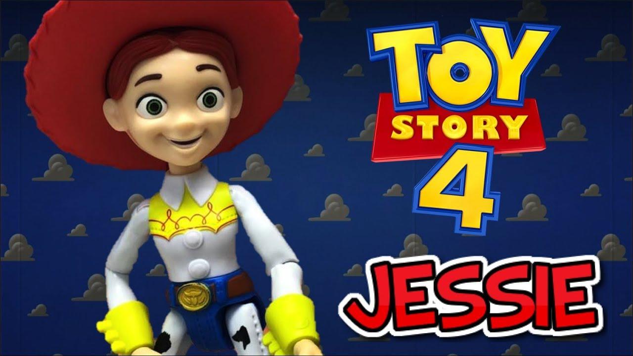 Juguete de JESSIE la VAQUERITA - TOY STORY 4 (Mattel 2019) Review ...