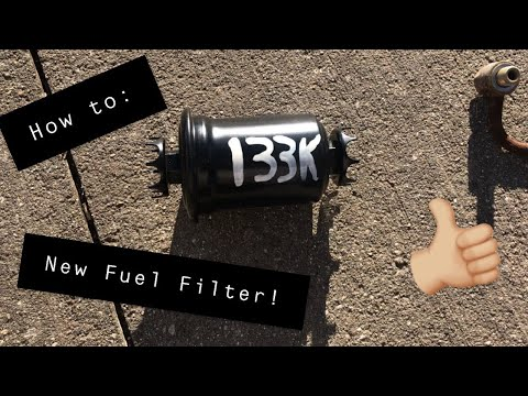 How to Replace a Fuel Filter on your 3000GT (1993 3000GT SL) - YouTube | Gt 3000 Fuel Filter Location |  | YouTube