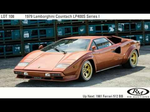 Lot Notes 1970 Lamborghini Countach Youtube