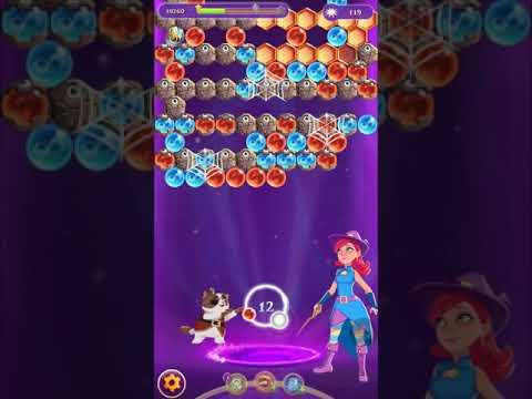 Bubble Witch 3 Saga Level 1115 Blue Cat