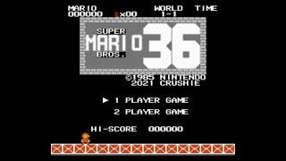 SMB Hack Longplay - Super Mario Bros 36: The 36th Anniversary Special