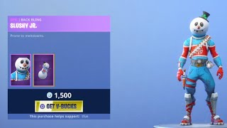 NEW SLUSHY SOLDIER SKIN!!! (Fortnite Item Shop Rotation)