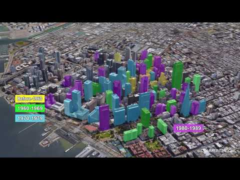 Evolution of Downtown San Francisco