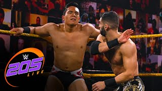 Jake Atlas vs. Ariya Daivari: WWE 205 Live, Oct. 9, 2020