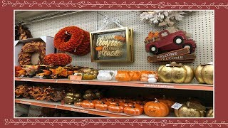 Shop With Me At the At Home store! Fall/Autumn Home Decor 2018