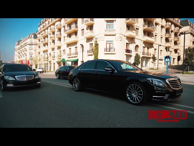 Mercedes Benz S-class / Rental cars in Baku from TRUST RENT company