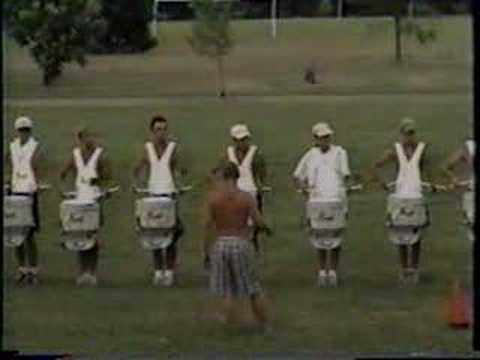 1997 Colts - Rehearsal Drum Solo Laporte IN.wmv