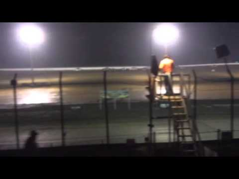 Clay county speedway feature part 2 8/9/14