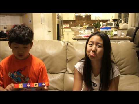 Bean Boozled jelly bean challenge 역겨운 잴리빈 먹기 챌린지  by Sophia & Teddy