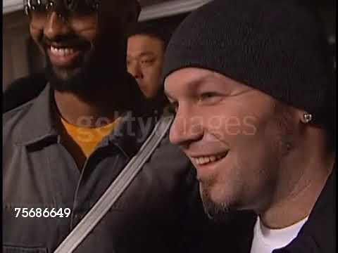 The Various Appearances Of Fred Durst At Events In America Between 1999 And 2005