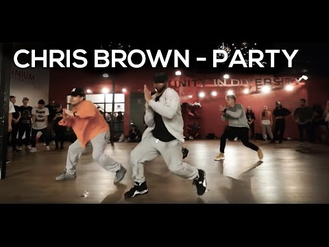 PARTY Chris Brown ft Gucci Mane & Usher  Dance Choreography  Hollywood