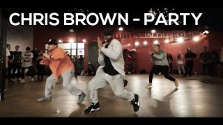 """PARTY"" Chris Brown ft Gucci Mane & Usher 