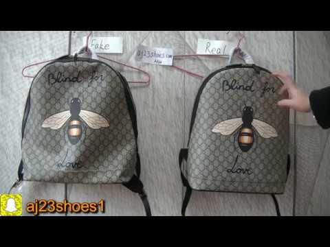 Real   Fake Bee print GG Supreme backpack Mens Backpacks GC Supreme ... 133eb4c14c8b9