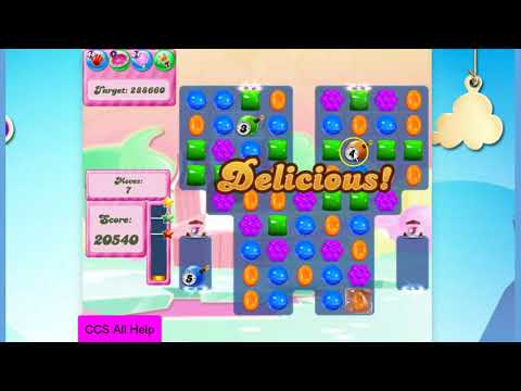 Candy Crush Saga Level 2803 NO BOOSTERS Cookie