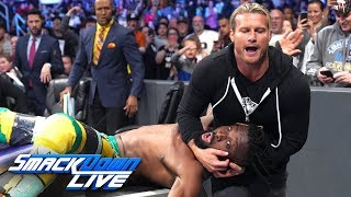 Dolph Ziggler brutally attacks Kofi Kingston: SmackDown LIVE, May 21, 2019