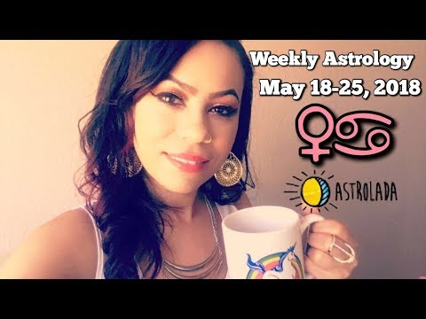 Weekly Horoscope for May 18th - 25th 2018 & Celebrity Coffee Talk! | John Legend/Chrissy Tiegen
