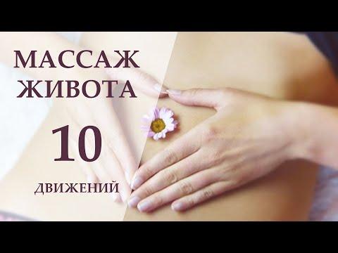Простой массаж живота / Для похудения / Решения проблем ЖКТ / Нормализации пищеварения