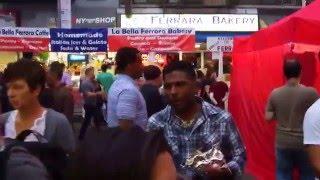 San Gennaro Street Festival Little Italy/New York City 2015