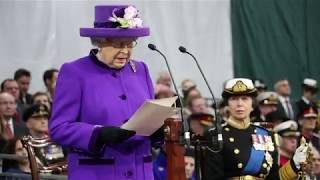 HMS Queen Elizabeth Commissioning Ceremony