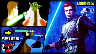 10 UNIQUE Easter Eggs You Missed - Jedi Fallen Order