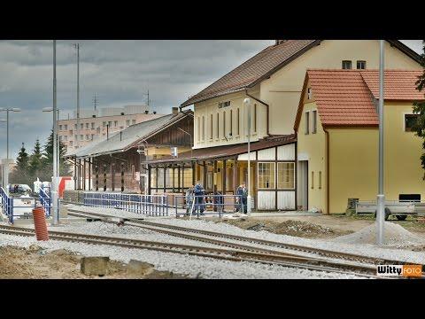 ŽST Český Krumlov - revitalizace tratě 2015