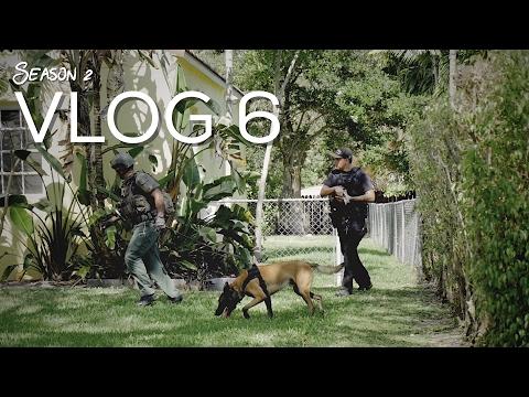 Miami Police VLOG: Unexpected Perimeter w/ K9