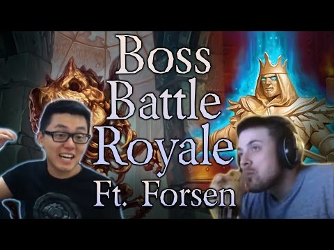 Tavern Brawl: Boss Battle Royale ft. Forsen