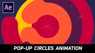 Etkileri Öğretici sonra : Pop Çevreler İntro Animasyon
