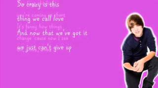 Justin Bieber- Overboard ft. Jessica Jarrell (with lyrics)