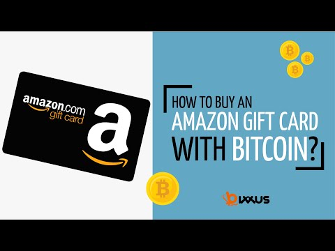 How To Buy An Amazon Gift Card With Bitcoin