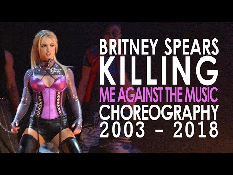 Britney Killing the Me Against the Music Choreography! 20032017