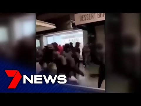 Oakleigh Street Brawl Caught On Camera | 7NEWS