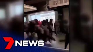 Oakleigh Street Brawl Caught On Camera | 7news