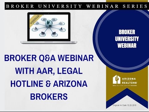 Live Broker Q&A 10.20.2016