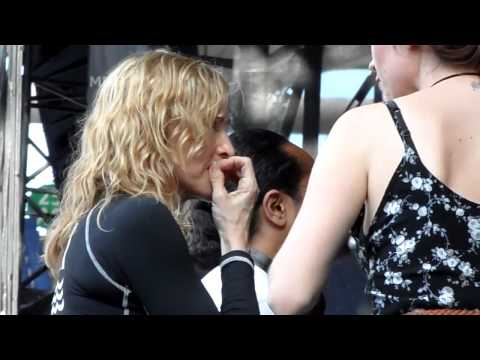 Madonna - Live in Rome - jun 12th 2012 - Soundcheck 2-2 - MDNA Tour