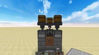 Yarı Otomatik Havuç Patates Buğday Sistemi Minecraft Rehberi 2