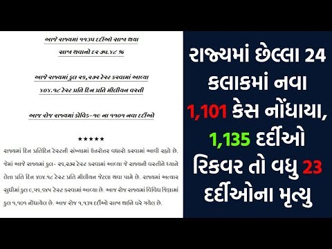 COVID19 : 1,101 Cases In Gujarat In 24 Hours, 23 Deaths | News Focus | 08-08-2020