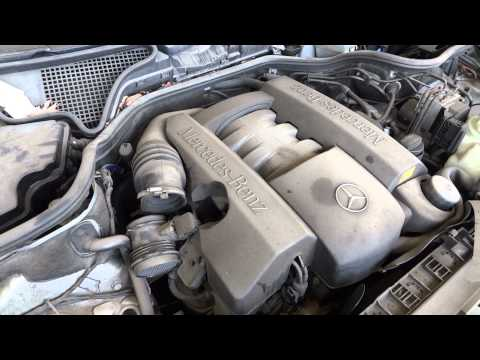 1998 mercedes benz e320 engine with 85k miles youtube for Mercedes benz e320 engine
