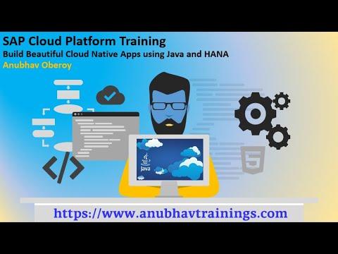 SAP Cloud Platform Training | SAP HCP Training | SAP SCP Training