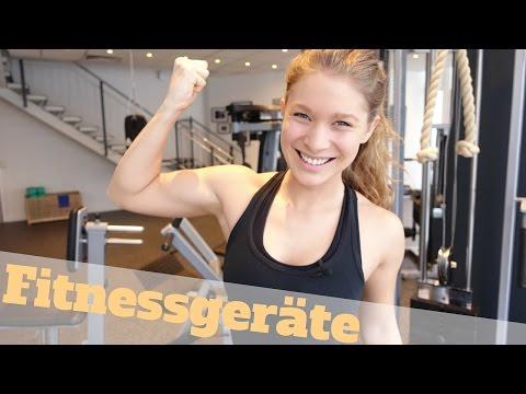 Geräte im Fitnessstudio aka. im Hotel | Geräte-Erklärungen für Beginner