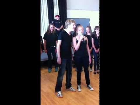 """north dumfries glee club """"Don't stop beliveing"""""""