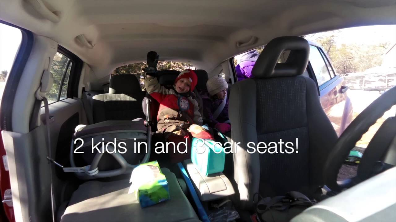 3 Child seats across in a 2007 Dodge Caliber For those ...