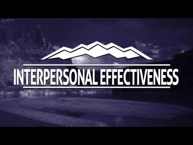 Elevations RTC - DBT and Interpersonal Effectiveness