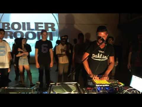 Doseone live in the Boiler Room Los Angeles
