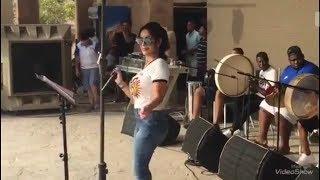 الفنانة المغربية صابرينا - قطر يا عسل ( آخر حبه ) من حفلة جنه دلمون المفقودة بالبحرين