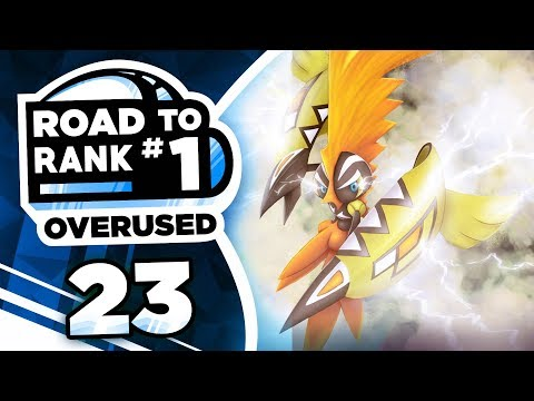 Pokemon Showdown Road to Rank 1: Pokemon Ultra Sun & Moon OU w/ PokeaimMD #23