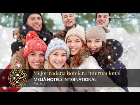 Premio mejor cadena hotelera internacional - Meliá Hotels International