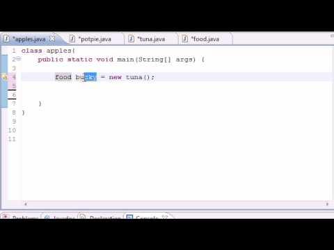 java-programming-tutorial---55---intoduction-to-polymorphism