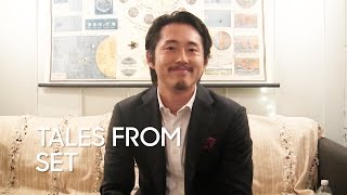 "Tales from Set: Steven Yeun ""The Walking Dead"""