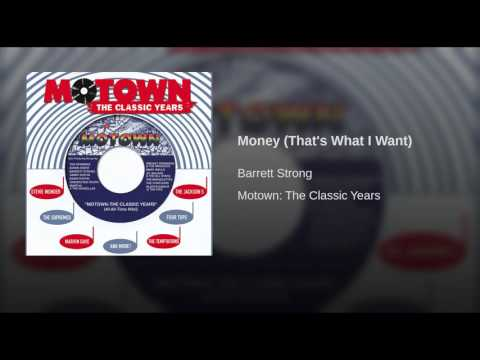 Money (That's What I Want)